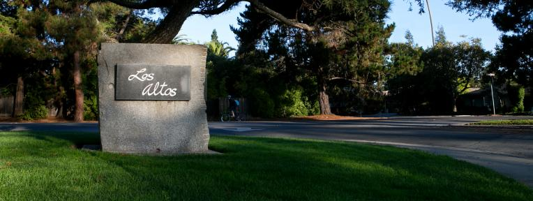 Los Altos Granite Marker