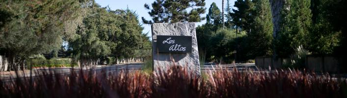 City of Los Altos Granite Marker