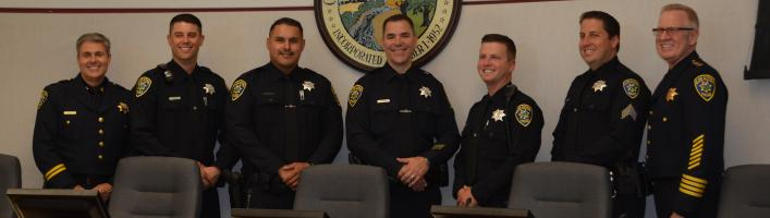Los Altos Police Swearing-In and Promotional Ceremony, June 2015