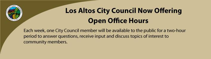City Council Open Office Hours