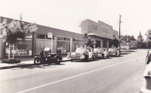 The original Los Altos Police building located on 300 block of State Street