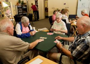 Card Games at the Hillview Senior Program