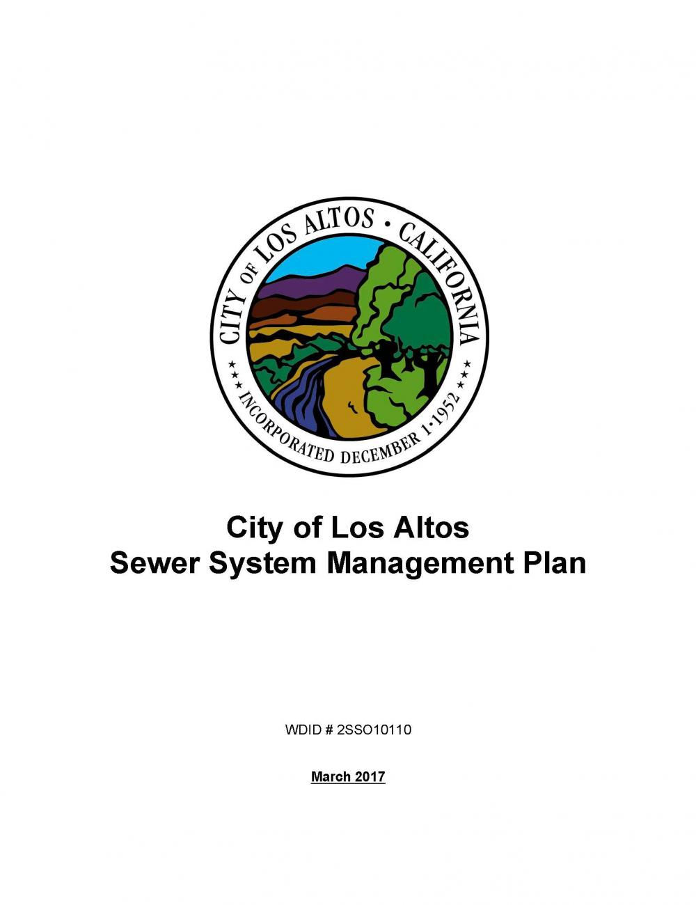 The Sewer System Management Plan SSMP Identifies Goals City Has Set For Operation And Maintenance Of